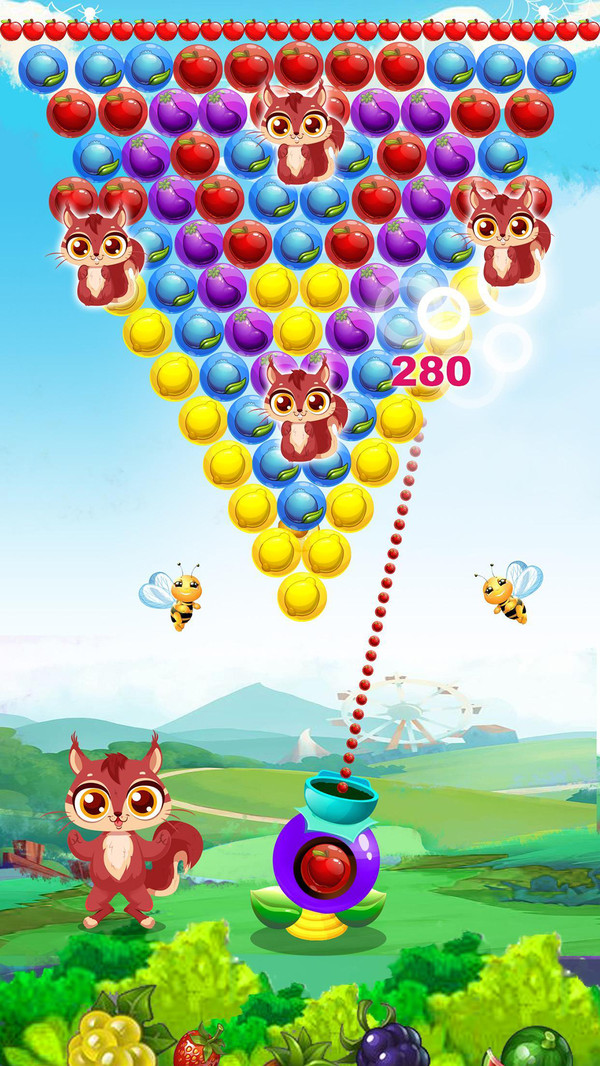 水果泡泡龙射击手机版_水果泡泡龙射击安卓版下载